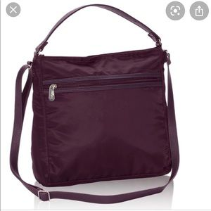 "Thirty-one ""Everything Crossbody"" in Burgundy."